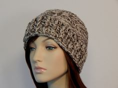 Crochet PATTERN PDF The Harper Hat Winter by MarlowsGiftCottage