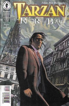 Tarzan: The Rivers of Blood # 3 Dark Horse Comics