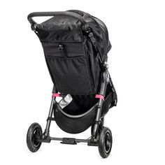 a rear view of the Baby Jogger City Mini GT Single Stroller