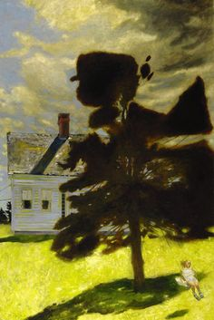 Jamie Wyeth, The Swing