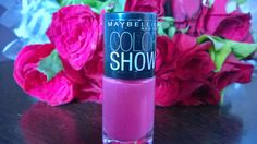 Makeup: Maybelline Color Show in Fiesty Fuschia review:  H...