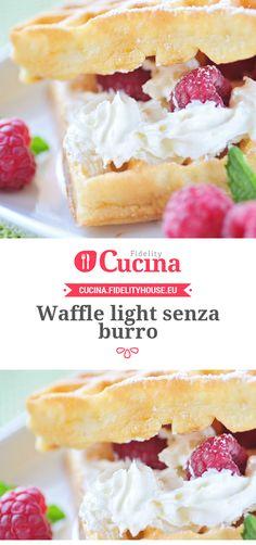 Waffle light senza burro
