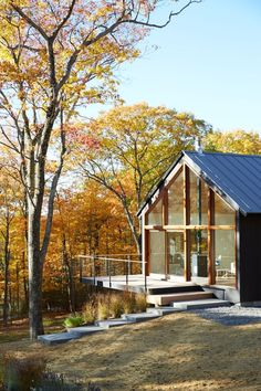 In the Hudson Valley, a two-hours' drive north of New York City, architect Drew Lang of Lang Architecture is building 26 homes designed to embrace the surrounding landscape on a wooded, 131-acre site. Starting price: $765,000.