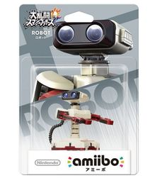 Amiibo ROB R.O.B Robot Super Smash Bros Japan Color Nintendo 3DS Wii U F/S #Nintendo
