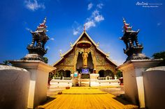 Wat Phra Singh - 泰國 清邁 帕邢寺 - Chiang Mai Thailand - Olympus BCL-0980 FISHEYE | Flickr - Photo Sharing! Chiang Mai Thailand, Old City, Olympus, Travel Around, Cool Places To Visit, Barcelona Cathedral, Temple, Bucket, Building