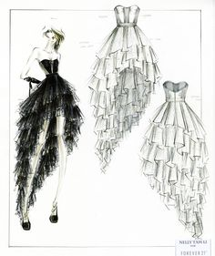 Fashion design sketches | 108 : Image Gallery 1474 | Topular News