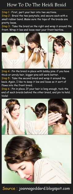 How To Do The Heidi Braid
