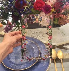 """Beth Helmstetter on Instagram: """"Lucite + art from @stephaniefishwick = perfection."""" Stationery Items, Wedding Stationary, Wedding Invitations, Wedding Paper, Big Day, Table Decorations, Beautiful, Instagram, Home Decor"""