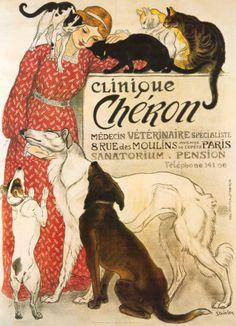 Clinique Cheron, c.1905  Théophile Alexandre Steinlen