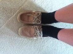 on sale 4c22a efdca Socks and Sperrys Sperry Topsiders, Nike Socks, Black Socks, Sperrys, Boat  Shoes