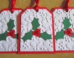 Acolchado tarjetas de Navidad juego de por DreamsByTheRiver