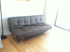 Wayfair Sofa Bed Embled At The K City Vista Inium In Washington Dc By Furniture