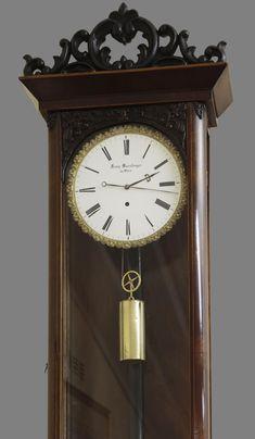 Victorian Wall Clocks, Antique Clocks, Ring Clock, German Wall, Clock Painting, Steampunk Clock, Round Corner, Decorative Objects, Vienna