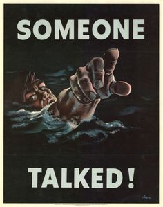 The Best Operations Security Propaganda Posters From World War II