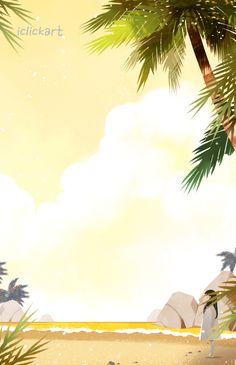 #summer #image #beach #sea #girl #illust #iclickart #npine #여름 #이미지 #소녀 #해변 #바다 #노을 #일러스트 #아이클릭아트 #엔파인