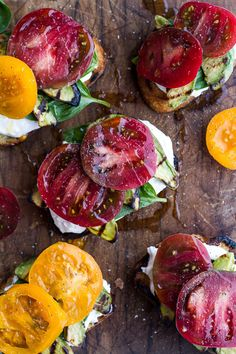 Grilled Caprese Toast with Burrata Cheese