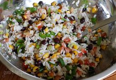 Fiesta Lime Rice with Black Beans
