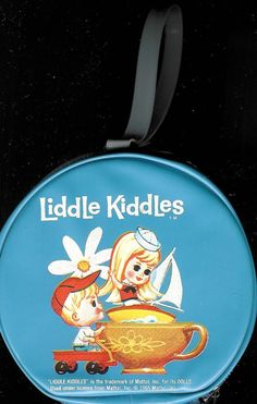 1967 Liddle KIDDLES Vintage Round LOLA & BIFF by CelwinsCloset