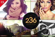236 Diamond Grade Photoshop Actions by Premium Photoshop Add-ons on @creativemarket