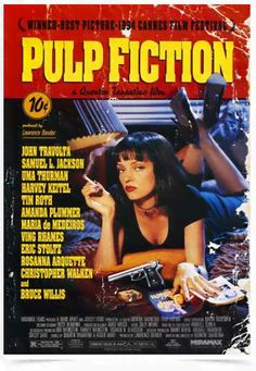 Poster Cinema Filme Pulp Fiction - Comprar em Decor10