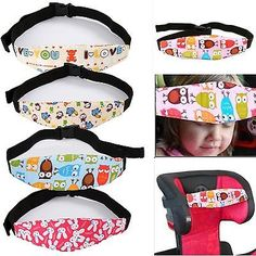 48 Ideas For Baby Sleep Safety Car Seats Toddler Car Seat, Baby Car Seats, Baby Head Support, Diy Cadeau, Stretchy Headbands, Road Trip With Kids, Creation Couture, Baby Supplies, Baby Safety