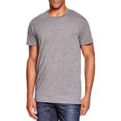 Sovereign Code Messenger Side Zip Tee ($20) ❤ liked on Polyvore featuring men's fashion, men's clothing, men's shirts, men's t-shirts, grey and sovereign code