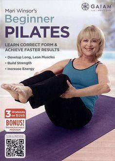 Pilates DVD Beginner Level Exercise 3 Workouts Perfect Form Primer Strengthen