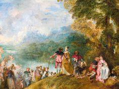 Viaje a un cuadro: 'Peregrinación a la isla de Citera', de Antoine Watteau