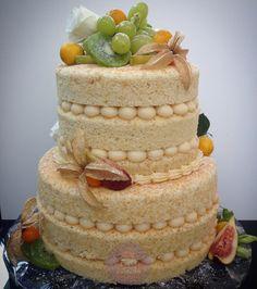 Bolo Naked Cake Citrus