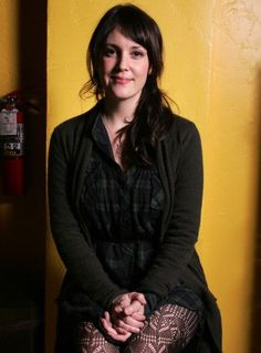 Melanie Lynskey   i would love to have tea with her..