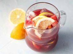 Sangria My Cookbook, Cocktails, Drinks, Food N, Sangria, Moscow Mule Mugs, Finger Foods, Panna Cotta, Baking