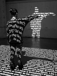 Projection de lettres et de mots