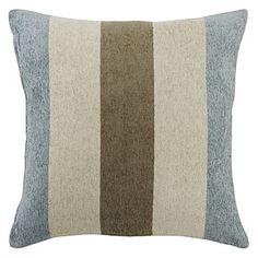 "18"" Fashion Stripe Textured Polyester Decorative Pillow Cover – EUR € 12.37"