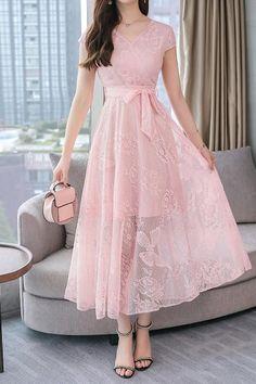 Chicloth Women's Dress Butterfly Elegant Stylish All Match Casual Dress-Cheap Casual Dresses Prom Dresses With Sleeves, Women's Dresses, Evening Dresses, Fashion Dresses, Lovely Dresses, Stylish Dresses, Simple Dresses, Elegant Casual Dresses, Casual Frocks