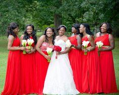 Throwback Linda and Mark's wedding!!! #bride #bridalfashion #bridalinspiration #groom #bridalparty #njwedding #njbride #theknot #blackbride1998 #beautiful #stunning #ladiesinred #Canon #bouquets #bridallook #ido #gettingmarried #africanwedding #africansweetheartweddings #naijawedding #chocolatebridesandgrooms by aidamalikphotography