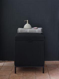 Dark Color Palette, Dark Colors, Towel Holder, Ottoman, Chair, Storage, Furniture, Winter, Design
