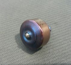 Custom Toned Spearhead spinning top from ImpetusTops!