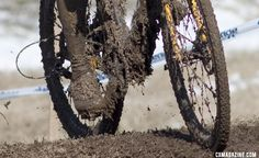 Power washers were needed but missing on the final day of the 2013 Masters Cyclocross World Championships. © Cyclocross Magazine