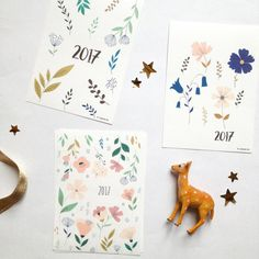 2017  New Year's Cards  2017 New Year's Holiday by mademoiselleyo