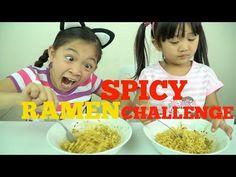 SPICY RAMEN CHALLENGE Kids Edition Kaycee & Rachel Check more at http://newbieto.com/baby/spicy-ramen-challenge-kids-edition-kaycee-rachel/
