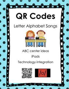 Alphabet Songs QR Codes