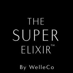 THE SUPER ELIXIR a super green supplement from Elle Macpherson