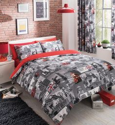 London city luxury duvet #covers #quilt #covers #reversible bedding sets all sizes,  View more on the LINK: 	http://www.zeppy.io/product/gb/2/331859827176/