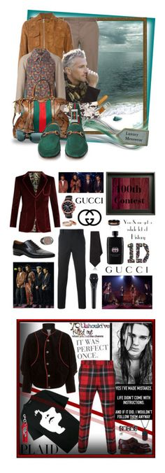 """""""Cool Men's Wear Looks For the Boys and Girls too!"""" by curekitty ❤ liked on Polyvore featuring Lanvin, Carven, Comme des Garçons, Vivienne Westwood, Gucci, Frontgate, men's fashion, menswear, Mancinelli and Room101"""