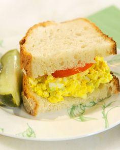 Mom's Egg Salad Sandwich - Martha Stewart Recipes