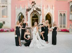 Fabulous wedding at Villa Ephrussi de Rothschild in French Riviera Groom Attire, Wedding Bridesmaid Dresses, French Riviera, Villa, Party Photos, Bridal, Weddings, Style, Fashion