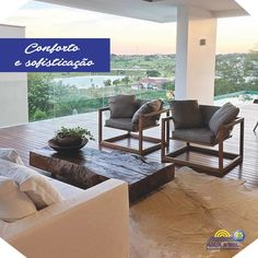 Poltrona Dorival: Inspirada na imagem do compositor Dorival Caymmi repousando, sentar-se na poltrona Dorival remete à experiência da rede, do movimento, de permitir dar tempo ao tempo. <3 #Móveis #Decoração #Conforto #Inspiração #PoltronaDorival Butzke Móveis #ÁguaeSolPiscinas