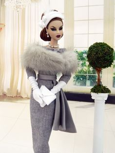 OOAK Vintage Fashion for Fashion Royalty/Silkstone Barbie by Joby Originals