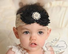 Dusty Rose Headband/Baby Headband/Baby Girl Hair