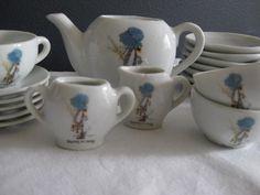Holly Hobbie tea set, I had this